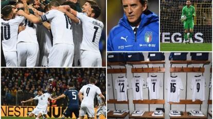 Italia ha hilado nueve triunfos en la Eliminatoria rumbo a la Eurocopa 2020 y parece imparable.
