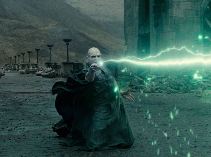 Harry Potter and the Deathly Hallows, Part 2 fue la primera película de Harry Potter que se estrenó tanto en 3D como en 2D.