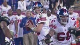 ¡Sorpresa! Giants así venció 17-14 a los Patriots en el Super Bowl XLII