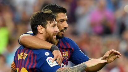 Futbolistas que jugaron codo a codo con Cristiano y Messi