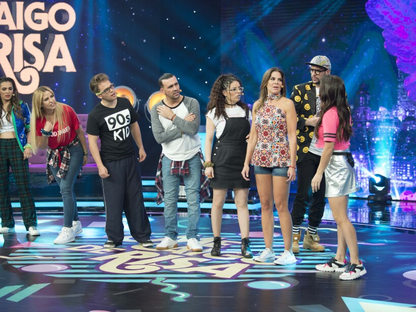 Raquel Bigorra y Vielka Valenzuela en Me Caigo de Risa