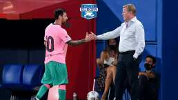 """Koeman sobre Messi: """"Ha hecho todo lo que esperaba de él"""""""