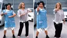 'Las señoras bailando': Erika Buenfil y Mario Aguilar se echan una tremenda coreografía en TikTok