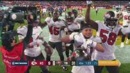 Buccaneers terminan el trabajo y vencen 9-31 a Chiefs