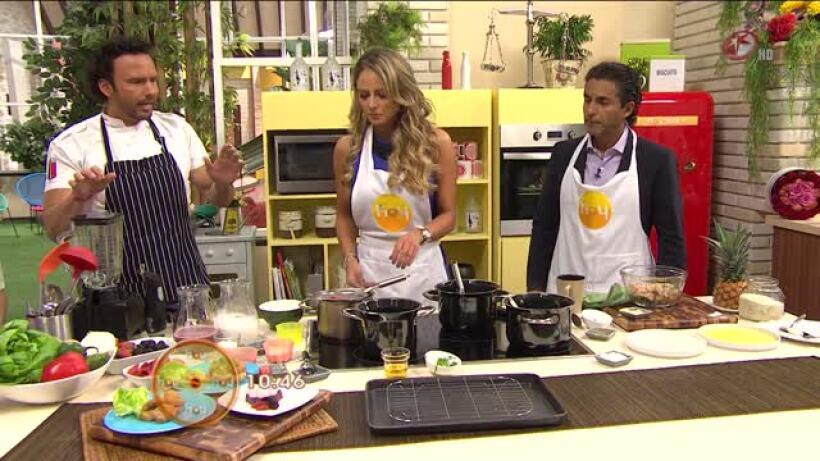 Cocina chef Oropeza Nuggets de pavo