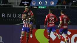 Atlético de San Luis logra contundente triunfo de 0-3 sobre Mazatlán