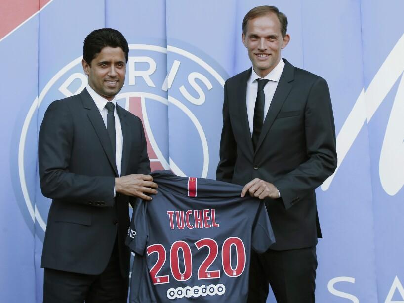 France Soccer PSG Tuchel Interview