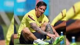Messi supera lesión y entrena en la semana del regreso de LaLiga