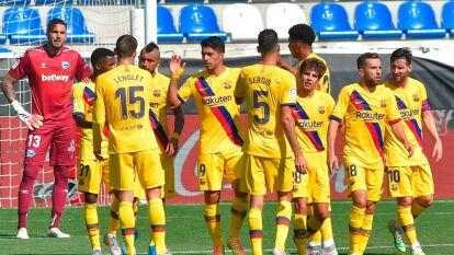 Barcelona apaleó al Alavés en la última fecha de La Liga   Los locales del Mendizorroza no mostraron argumentos para contener los embates de los culés.