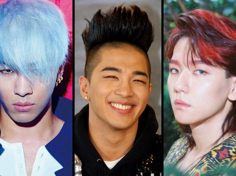 Looks, cortes y estilo de pelo o cabellos de los IDOL de K-Pop