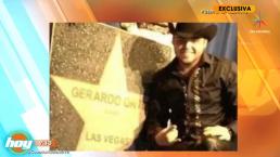 Amenazan con remover la estrella de Gerardo Ortiz del paseo de la fama de Las Vegas