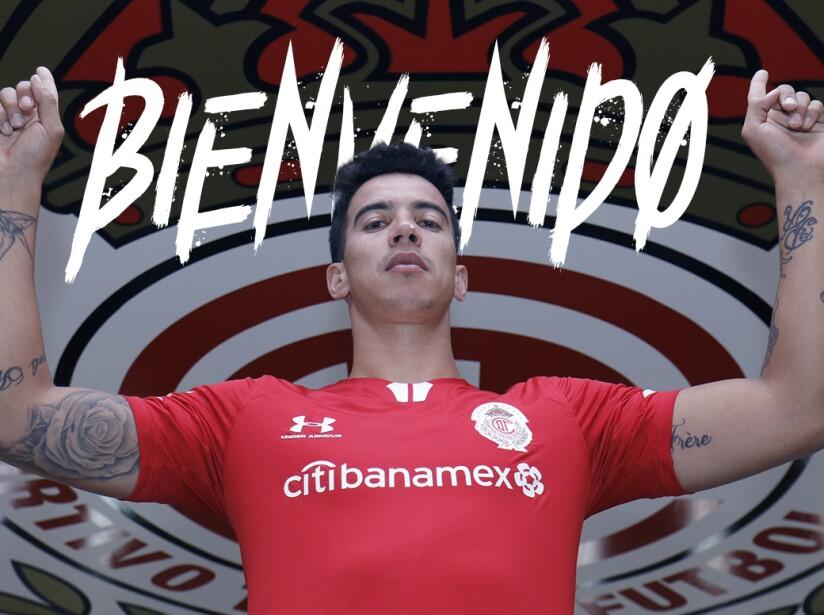 Diego Rigonato, refuerzo de Toluca