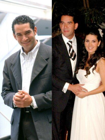 Eduardo Santamarina debutó como actor en 'La Pícara Soñadora' y ahora triunfa como conductor en 'Miembros al aire'. Mira la transformación física del esposo de Mayrín Villanueva