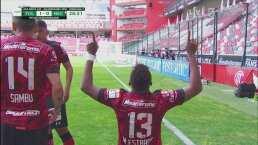 ¡El VAR señala penalti y Michael Estrada marca el 1-0 ante el Necaxa!