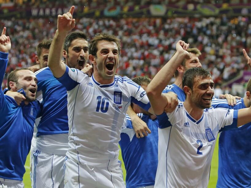 APTOPIX Soccer Euro 2012 Greece Russia