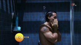 Cristian de la Fuente se desnudó en Quiero amarte