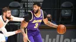 Anthony Davis regresó a las duelas con los Lakers