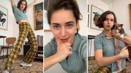 Tessa Ia se anima a abrir su TikTok y confiesa sentirse muy millennial
