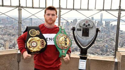 Con un récord de 53 peleas ganadas, un empate y s´ólo dos perdidas, Saúl Álvarez buscará alargar la racha ganadora en su próximo combate. Te dejamos las últimas 10 peleas del 'Canelo'.