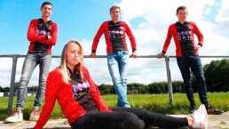 Equipo en Holanda, primero en alinear a mujer en equipo masculino