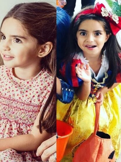 Con tan solo seis años, Aitana Derbez es toda una celebridad y es que desde que nació, en agosto de 2014, tanto Eugenio Derbez como Alessandra Rosaldo llenaron las redes sociales con imágenes de la pequeña. Ahora, mira la radical transformación que ha tenido la hija más pequeña del comediante en los últimos años, en los que ha pasado de ser el clon de su papá a toda una princesa de Disney.