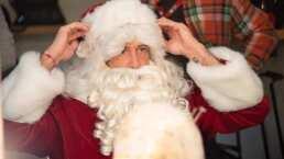 ¡Así se transformó Gabriel Soto en Santa Claus para 'Soltero con hijas'!