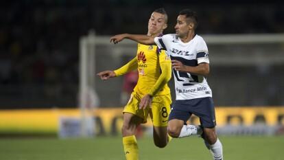 Luis Fuentes, canterano de Pumas, se convirtió en fichaje de las Águilas del América para el Clausura 2020.