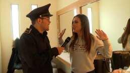 Video exclusivo: Yurem registró los camerinos de la Familia Disfuncional y encontró una muñeca inflable