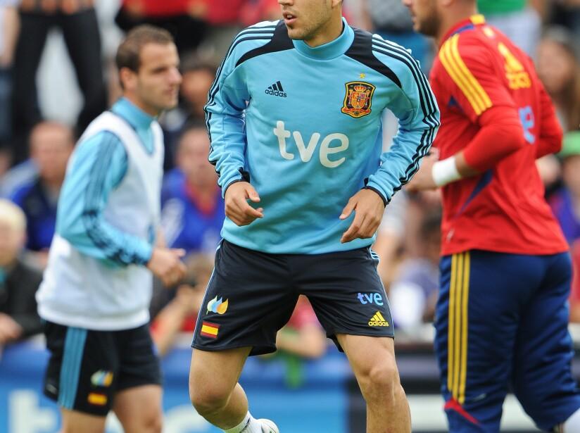 Spain Euro 2012 Training Session