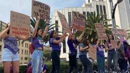 'No más violencia': Mujeres alzan la voz en el centro de la Ciudad de México para narrar sus testimonios