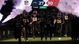 ¡Emocionante! Saints derrota a Chargers que falló FG en tiempo extra