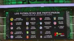 Futbolistas que participarán en la e-Liga MX