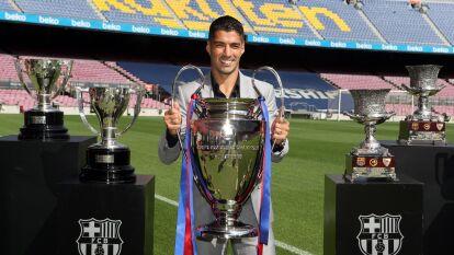 ¡Adiós, Barcelona! Luis Suarez dice adiós al Camp Nou