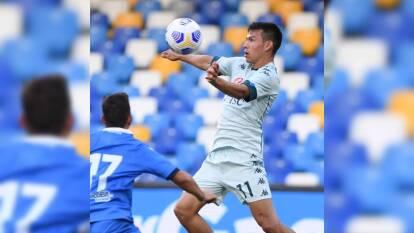 Las postales de 'Chucky' en la goleada al Pescara | Hirving Lozano está viviendo un gran momento con el Napoli y estuvo cerca de marcar con tremenda chilena.