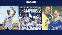 Clubes de futbol celebran pase de los Dodgers a Grandes Ligas