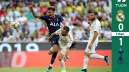 Crisis en plena pretemporada: Real Madrid pierde con Tottenham