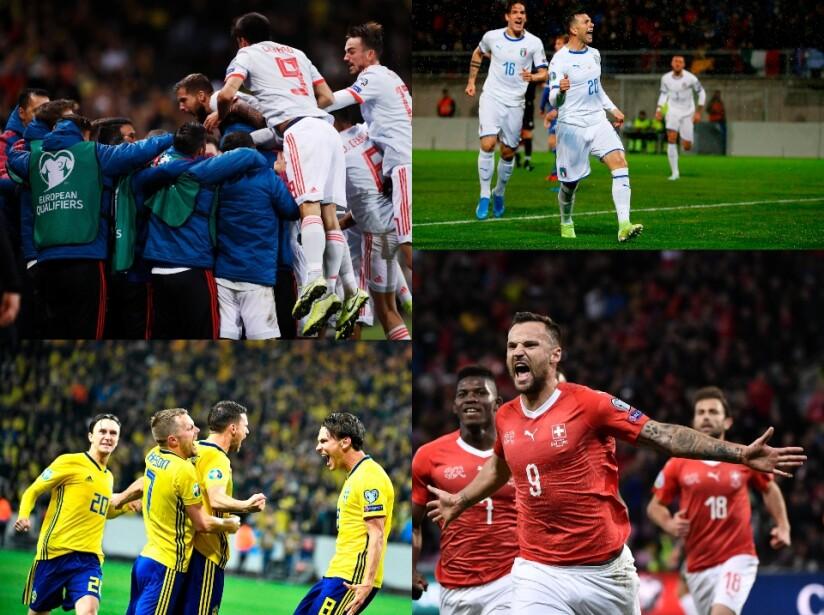 Resultados de la jornada 8 rumbo a la Eurocopa 2020.