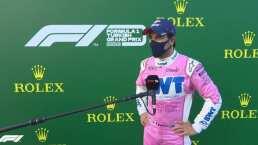 Checo Pérez saldrá tercero en el Gran Premio de Turquía