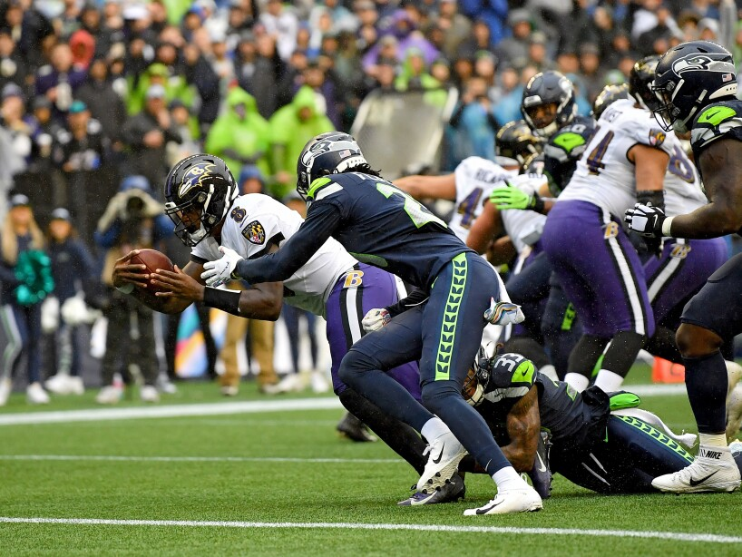 Baltimore Ravens v Seattle Seahawks