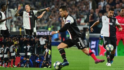 En duelo de llegadas, la Juventus golea en casa 3-0 al Bayer Leverkusen.