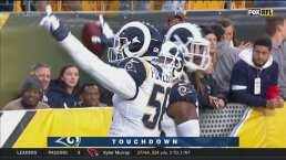 Fowler aprovecha error de los Steelers