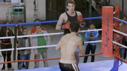 Erik reta a Erasmo en el ring
