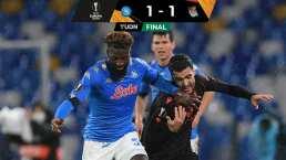 Napoli y el Chucky avanzan en la Europa League