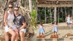 Jacky Bracamontes se va a un lujoso lugar para pasar sus vacaciones en familia