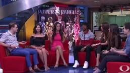 ENTREVISTA: Los Power Rangers en Al aire con Paola Rojas