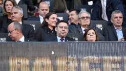 Aparece escudo del Real Madrid en palco presidencial del Barcelona