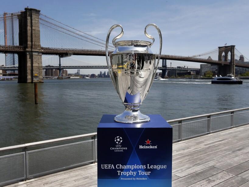UEFA Champions League Trophy Tour presented by Heineken