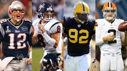 Estos jugadores han marcado la historia del Draft porque fueron selecciones que fracasaron o, en su defecto, no los adquirieron en las primeras rondas y quedaron entre los mejores de la historia del futbol americano.