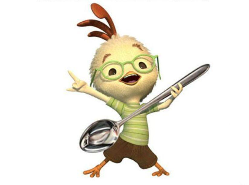 6. Chicken Little: Este pollito trata de salvar el mundo en esta divertida cinta animada.