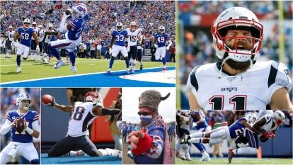 En esta cuarta fecha, los New England Patriots visitan a su rival de división, los Buffalo Bills.